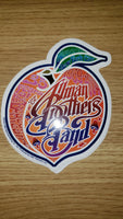 Allman Brothers Peach Sticker