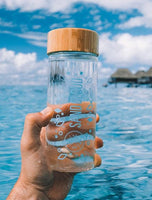 SandCloud Glass Water Bottle