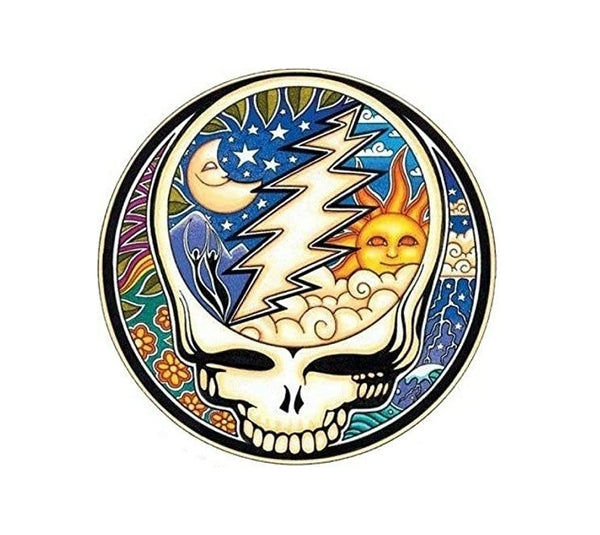 Sun/Moon Steal your Face sticker
