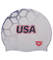Arena USA Swimming Silicone Cap