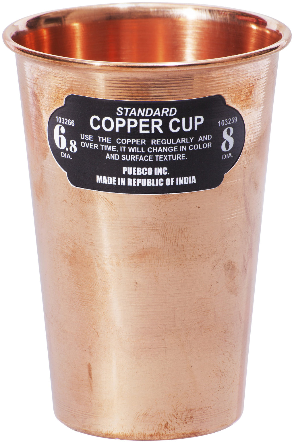 COPPER CUP - STACKABLE DESIGN BY PUEBCO