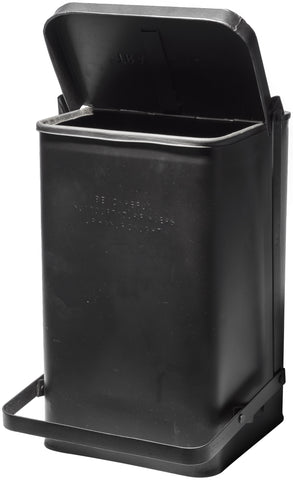 Step Trash Can - Black