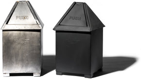 Table Top Dust Bin - Black