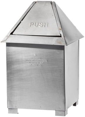 TABLE TOP DUST BIN - NATURAL