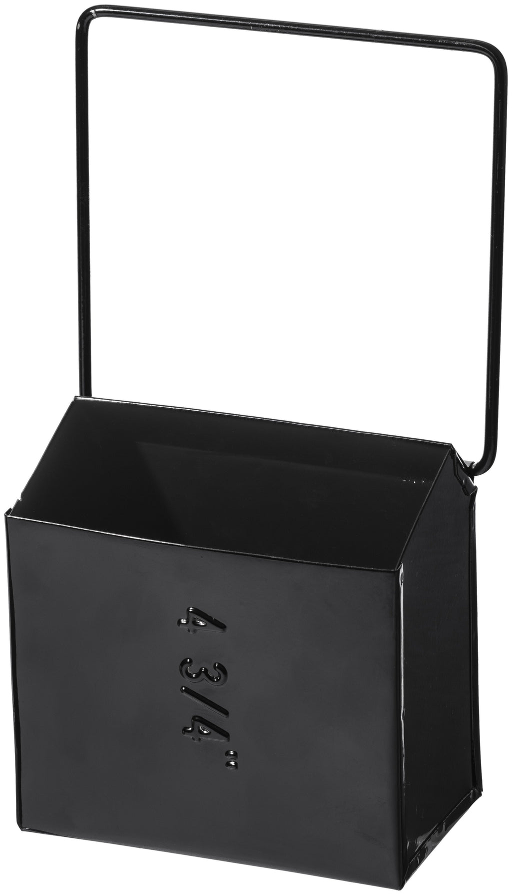Hanging Tool Storage Box Wide Black