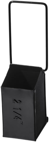 Hanging Tool Storage Box Narrow Black design by Puebco