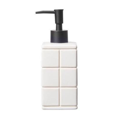 Ceramic Bath Ensemble Soap Dispenser design by Puebco