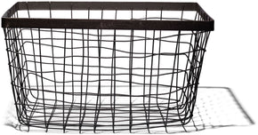 WIRE BASKET RECTANGLE