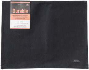 WAXED COTTON PLACEMAT - BLACK