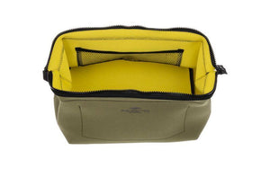 Wired Pouch - Large - Olive & Yellow