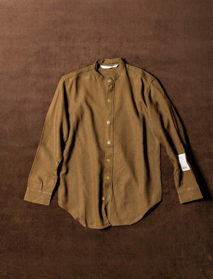 POCKETESS WORK SHIRT / E-4 / 02