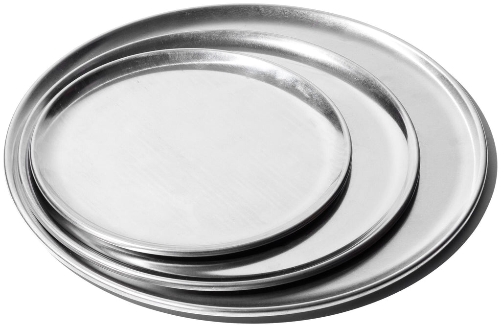 Aluminum Round Tray - 8 in
