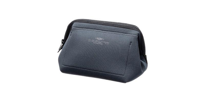 WIRED POUCH - SMALL - DARK GRAY & GREEN