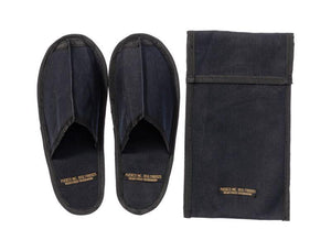 WAXED CANVAS PORTABLE SLIPPER - SMALL - OFF WHITE