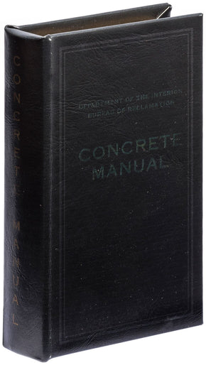 Book Box - Concrete Manual BK design by Puebco