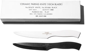 Ceramic Paring Knife in Black