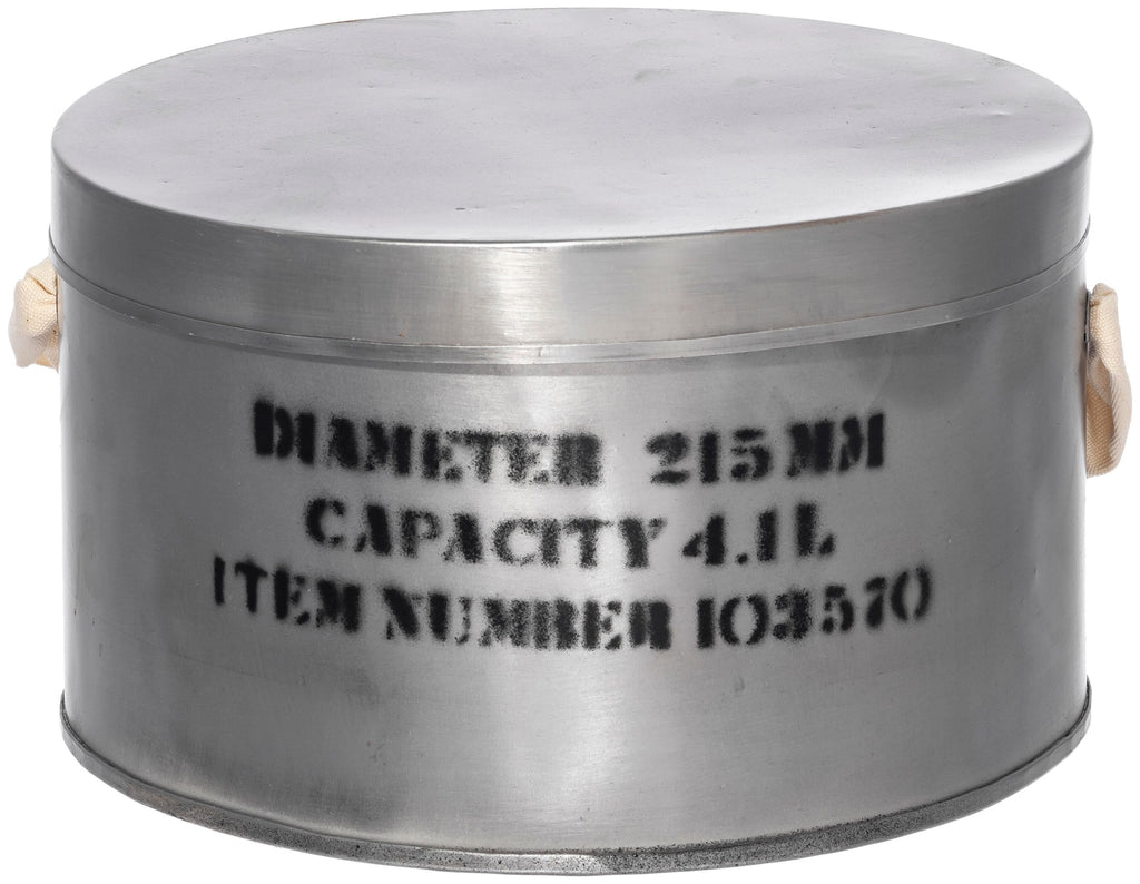 STEEL HAT BOX