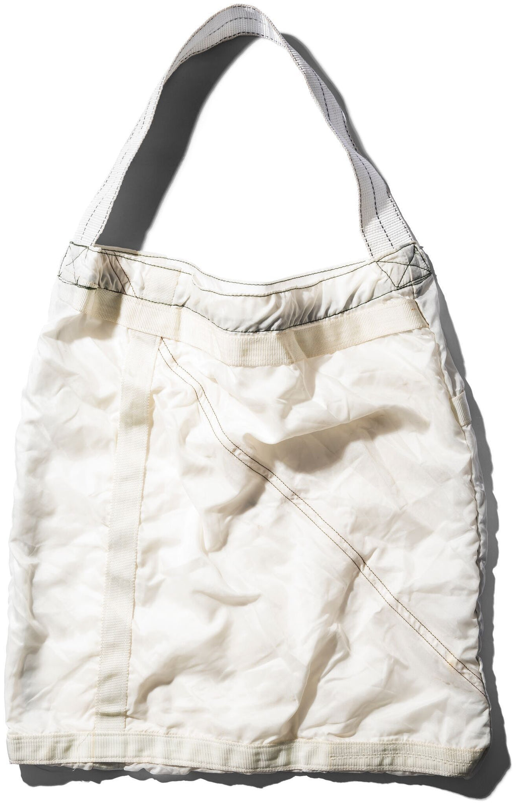 VINTAGE PARACHUTE LIGHT BAG - WHITE