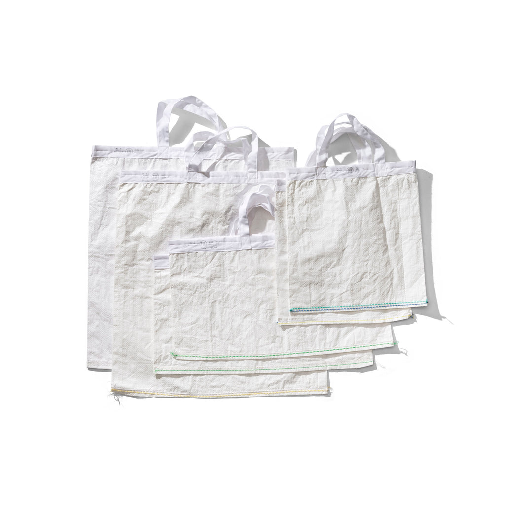 SHOPPING BAG / White