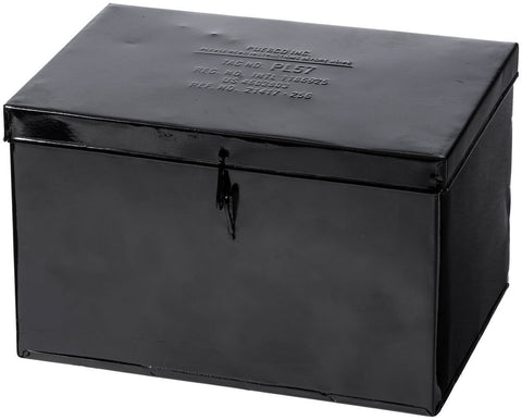 Container With Partition - Large Black
