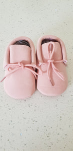 Leather Moccasins - pink