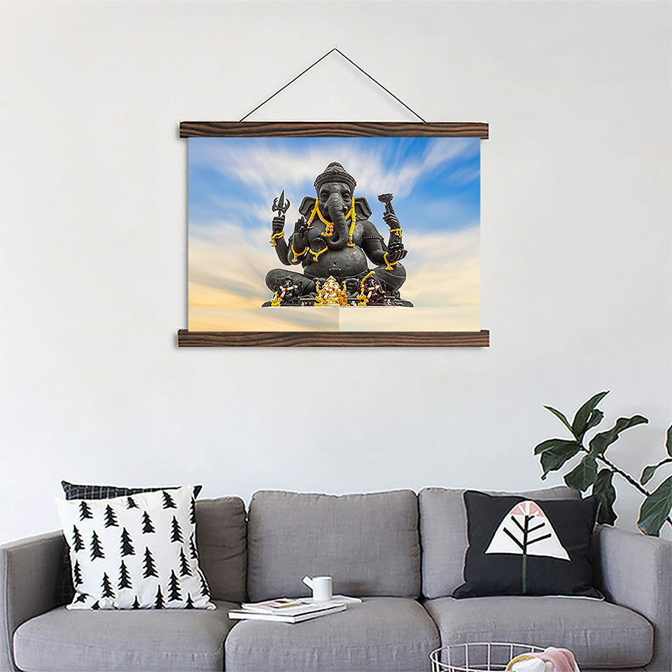 Lord Shiva Wall Posters And Prints, Canvas Paintings On The Wall, Unframed  Pictures For Living Room Wall