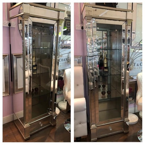 Venice mirrored display cabinet