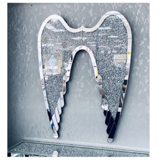Large crushed diamond wings LED wings