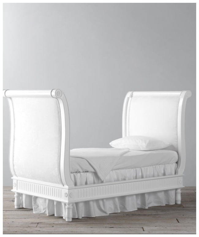 The belle sleigh cot bed