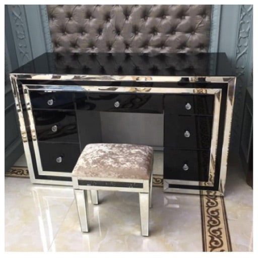 Atlanta black dressing table