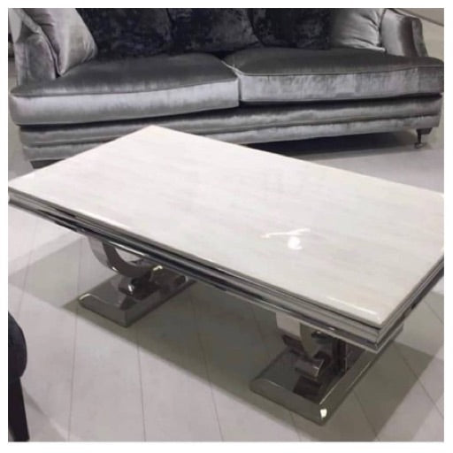 Buxford marble coffee table