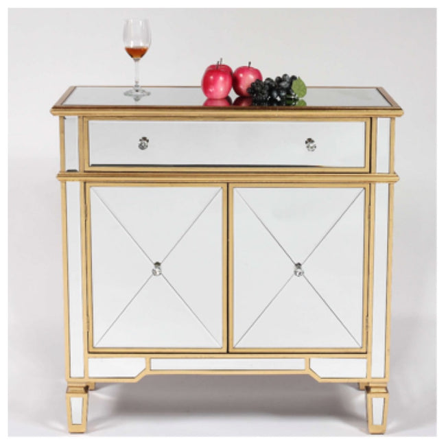 Valencia gold small sideboard cabinet