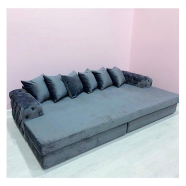 Aston cinema buttoned sofa