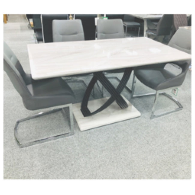 Siciley marble dining table