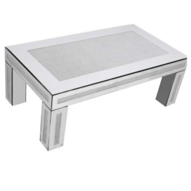 Glam sparkle coffee table