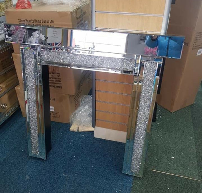Crushed diamond Fire surround unit only