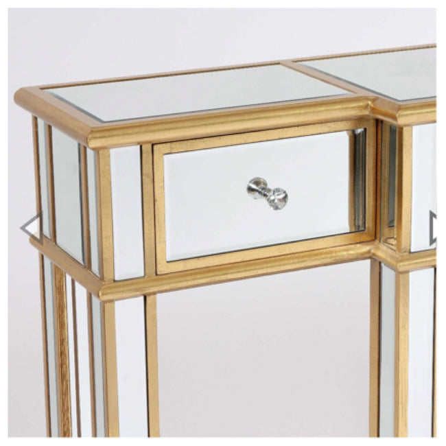 Valencia mirrored console table