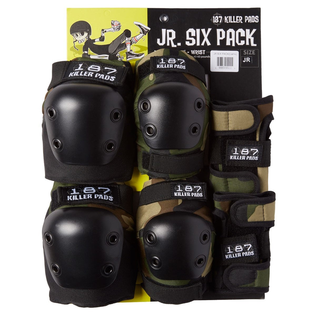 Proteccion Junior 6 Pack set camuflado