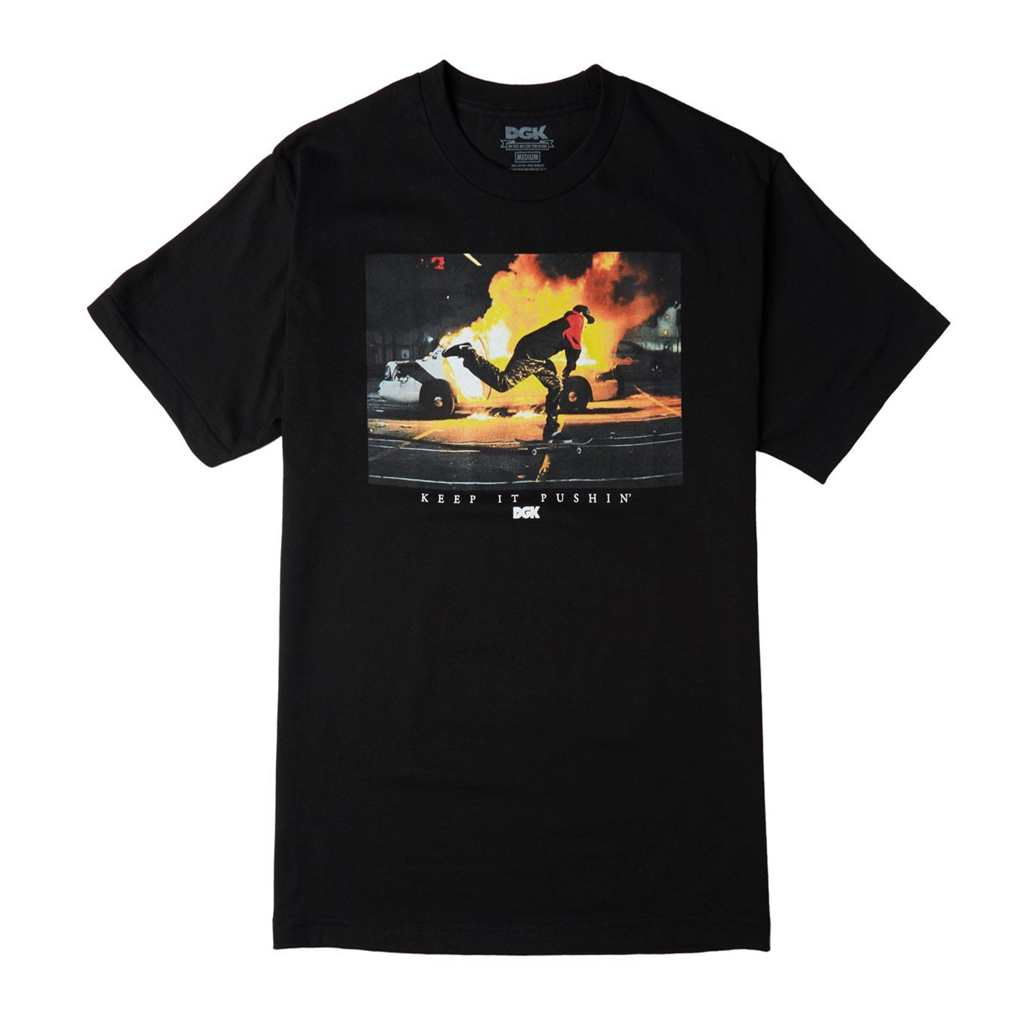 Polo DGK - Pushin Black