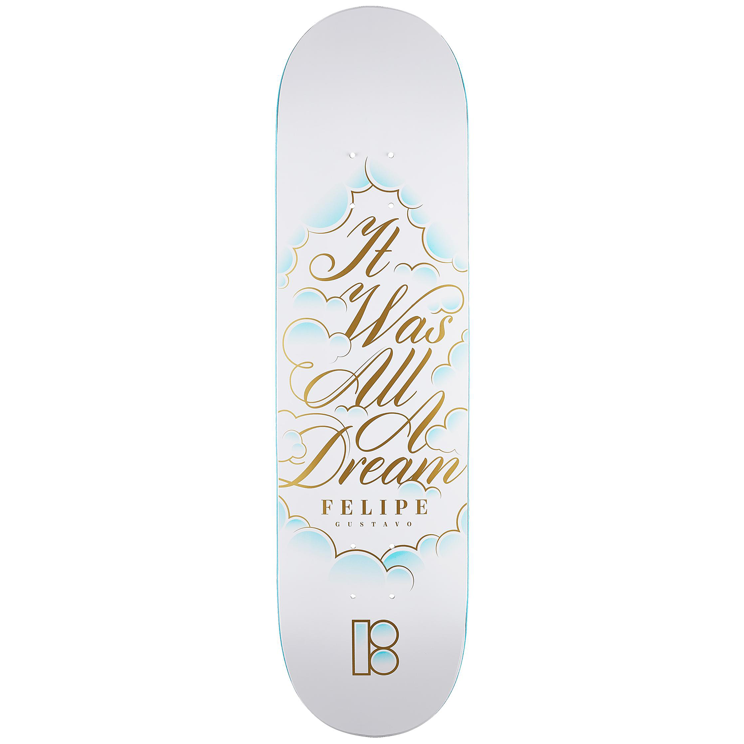 Tabla Plan B Felipe Dreamer BLACK ICE- 8.25''