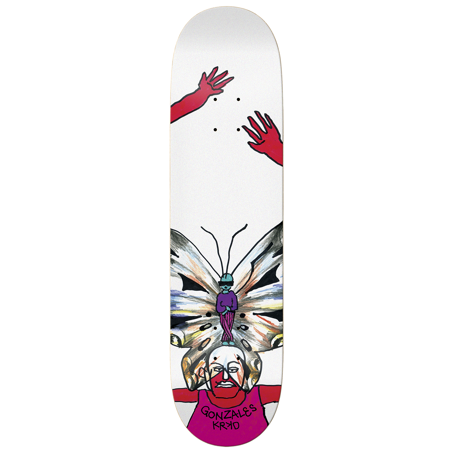 Tabla Krooked Gonz Wings - 8.62''
