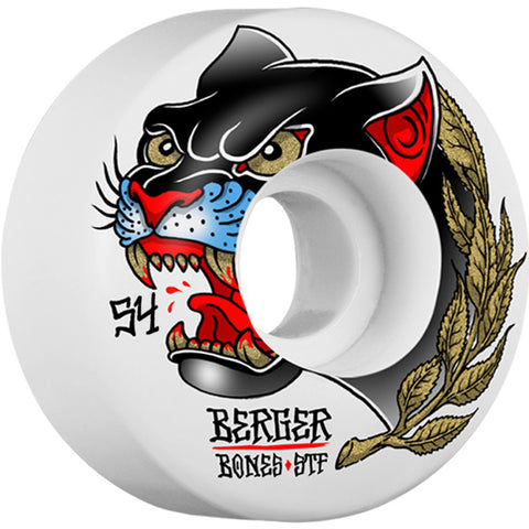 Llantas Bones - STF Pro Berger Panther Slims V3 54mm 4pk