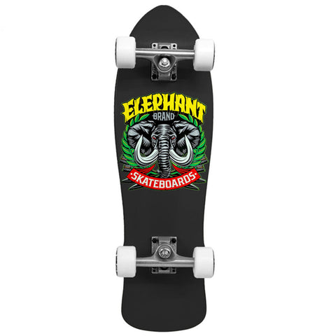 Street Axe Black Mini Cruiser blk 8.25 x 28