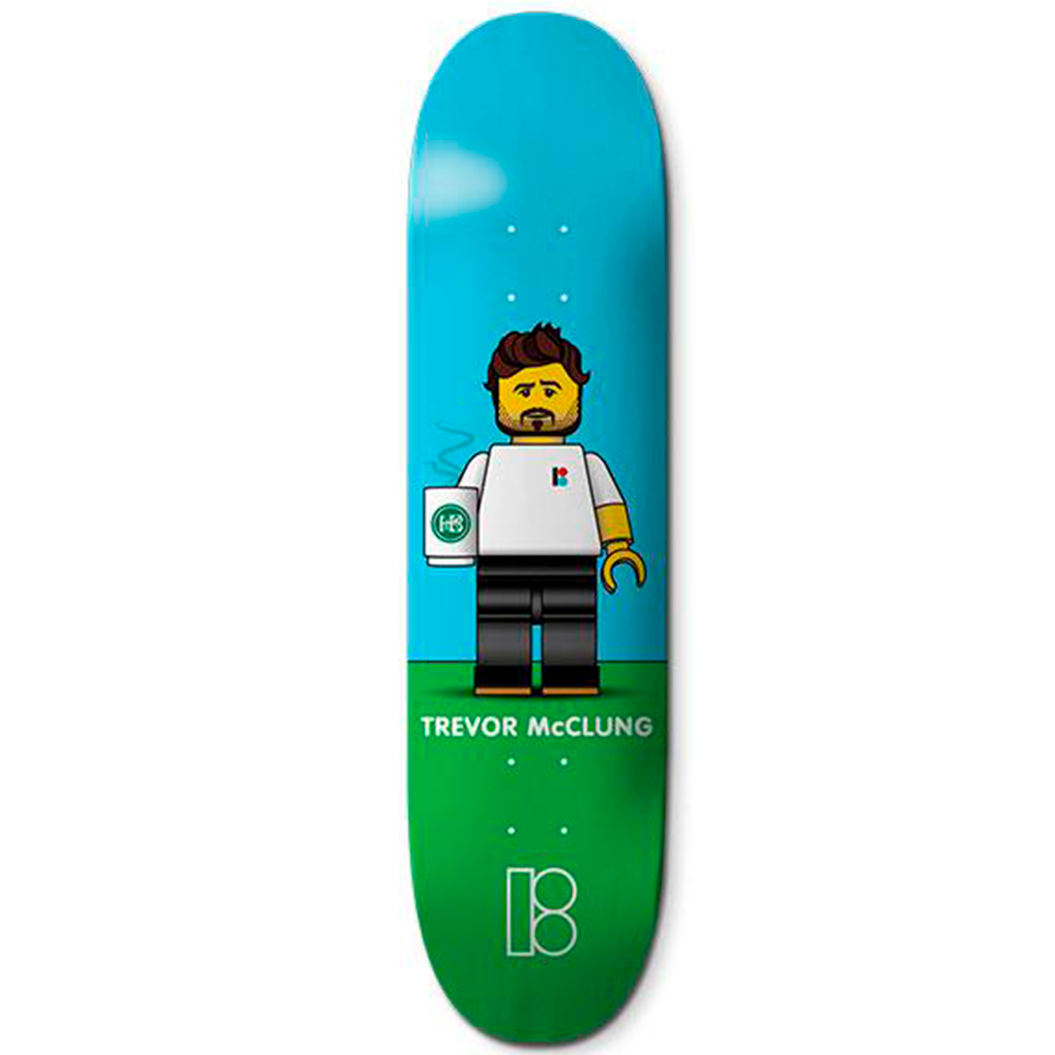 Tabla Plan B Trevor Blockhead - 8.125''