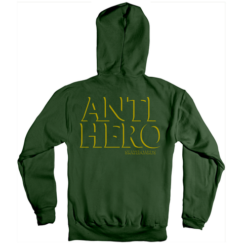 Capucha Antihero - Drophero Green