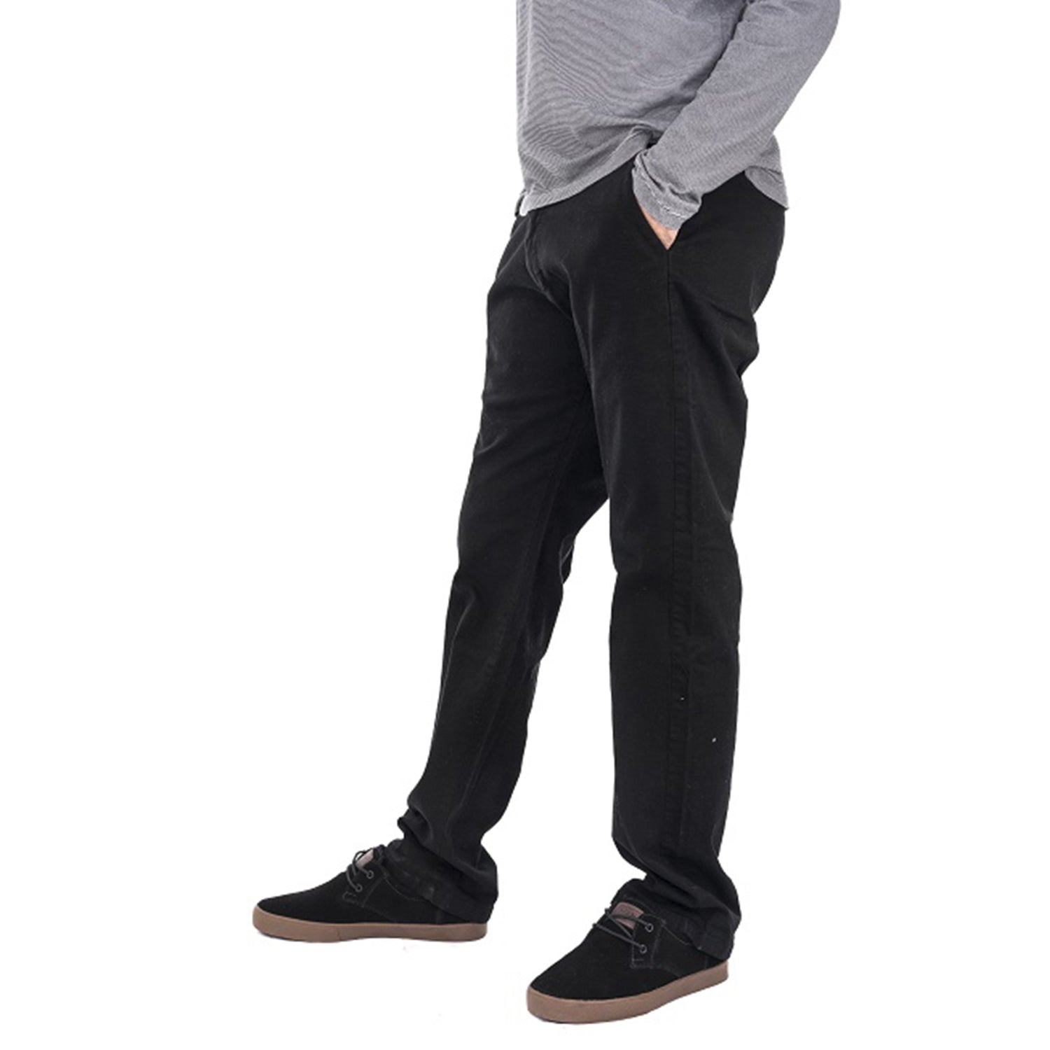 Pantalon V- Natural Chino Black