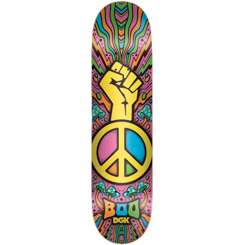 Tabla DGK Black Peace Boo - 8.25""