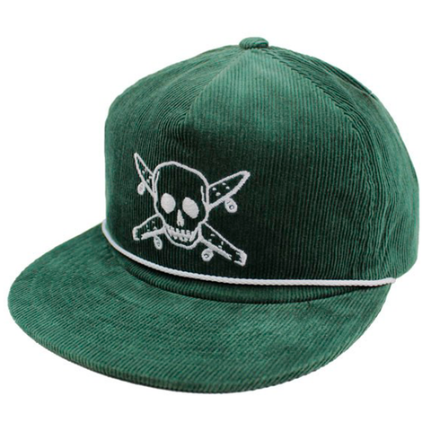 Gorra Fourstar - Pirate Cord Green