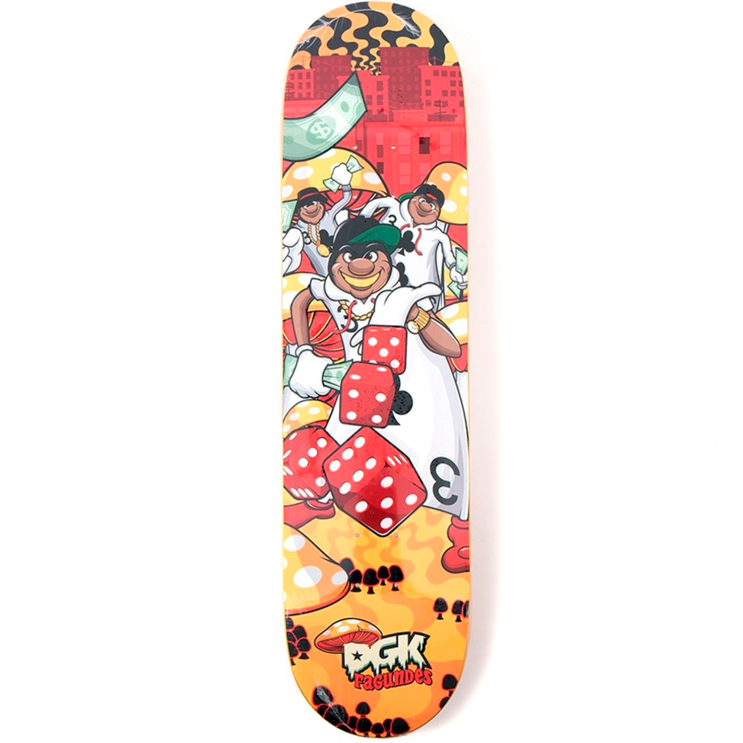 Tabla DGK Ghetto Land Fagundes - 8""
