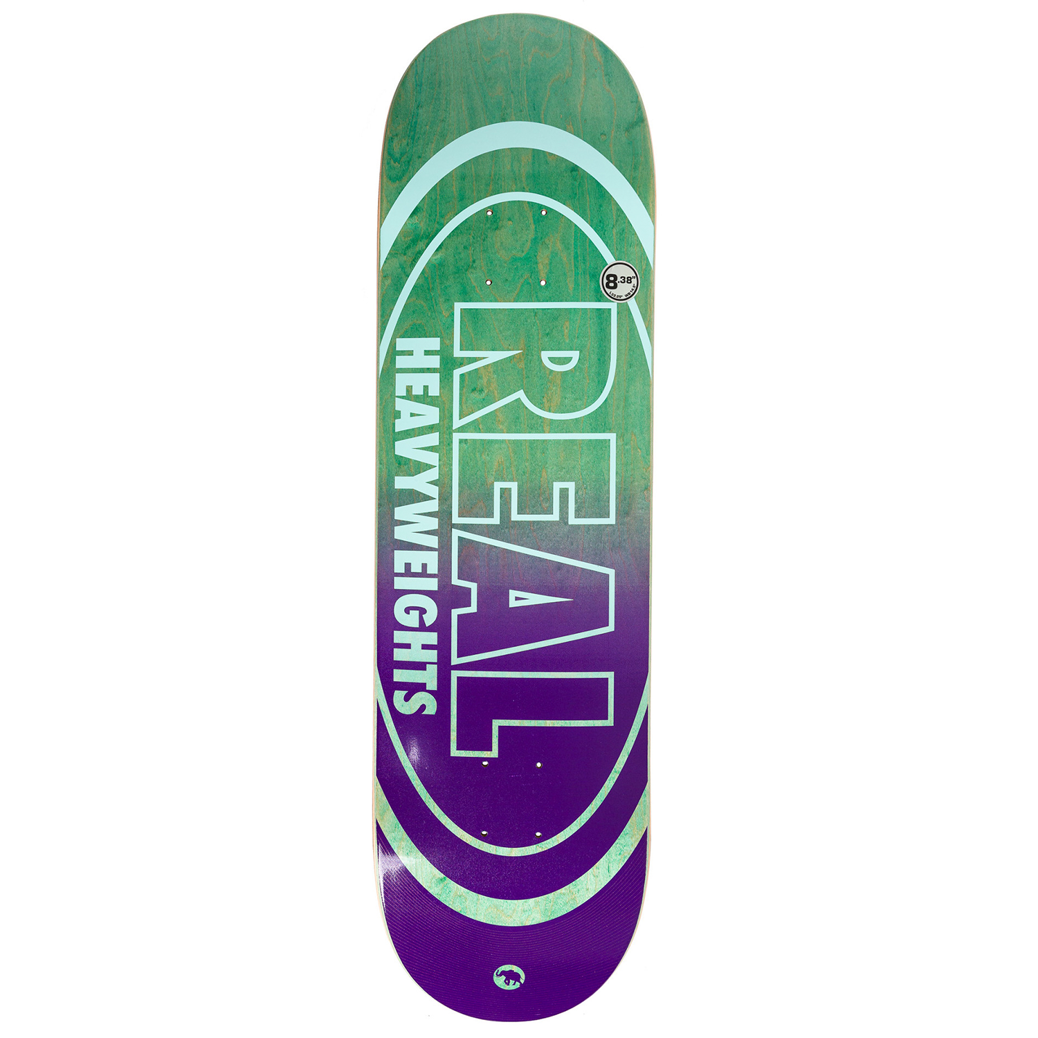 Tabla Real Heavyweights Oval Green- 8.5''